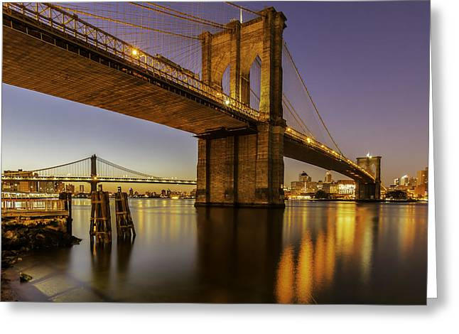 Brooklyn Sunrise Greeting Card