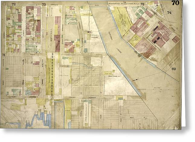 Brooklyn, Vol. 4, Double Page Plate No. 70 Map Bounded Greeting Card