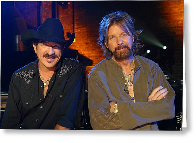 Brooks And Dunn Greeting Card