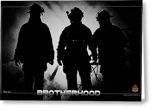 Brotherhood 2 Greeting Card by Mitchell Brown