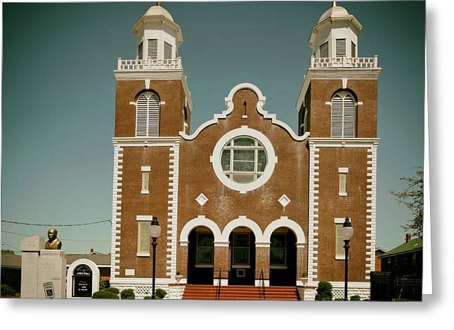Brown Chapel In Selma Alabama Greeting Card by Mountain Dreams