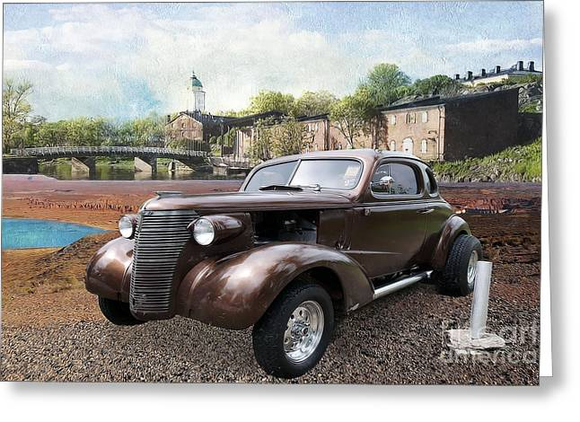 Brown Classic Collector Greeting Card by Liane Wright
