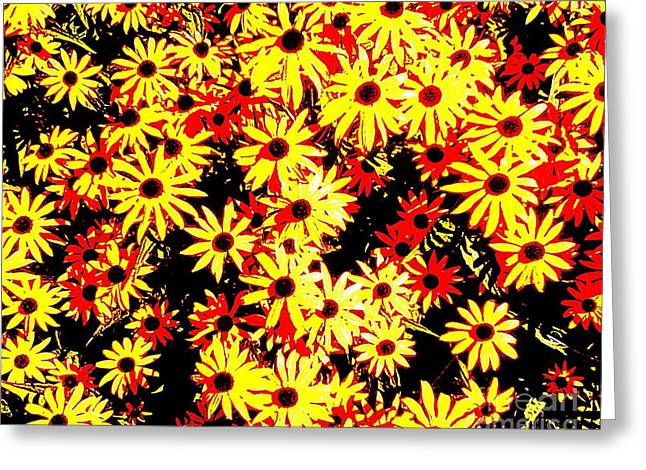 Brown Eyed Susans I Greeting Card by Peter Gumaer Ogden