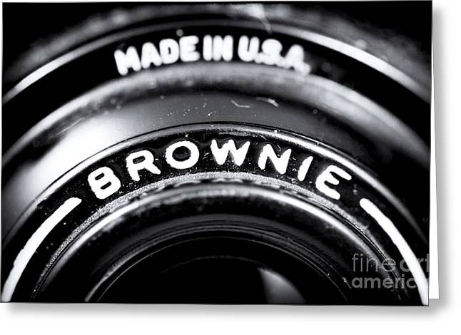 Brownie Greeting Card by John Rizzuto