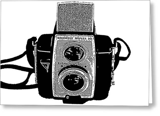 Brownie Reflex Camera 2 Greeting Card