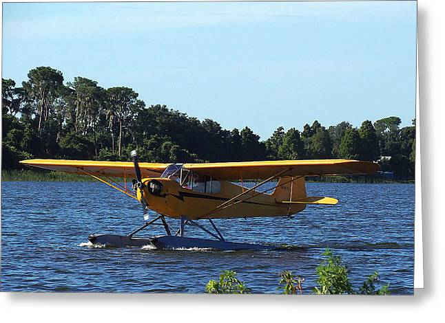 Brown's Piper Cub 005  Greeting Card