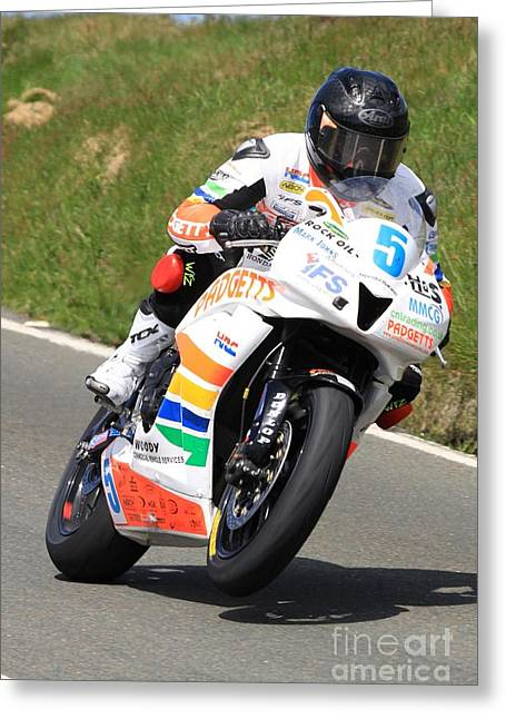 Bruce Anstey 7 Greeting Card