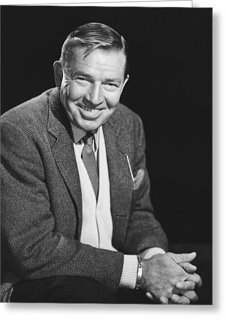 Bruce Cabot Greeting Card by Silver Screen