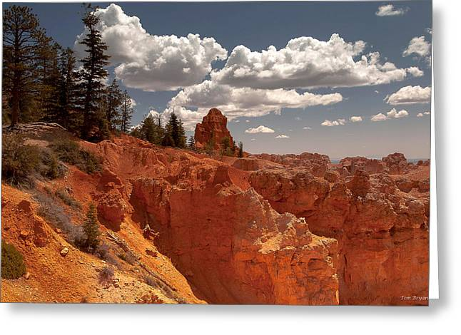 Bryce Canyon Sky  Greeting Card by Tim Bryan