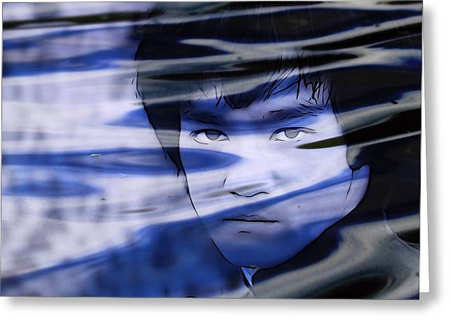 Bruce Lee Be Like Water Greeting Card by Dan Sproul