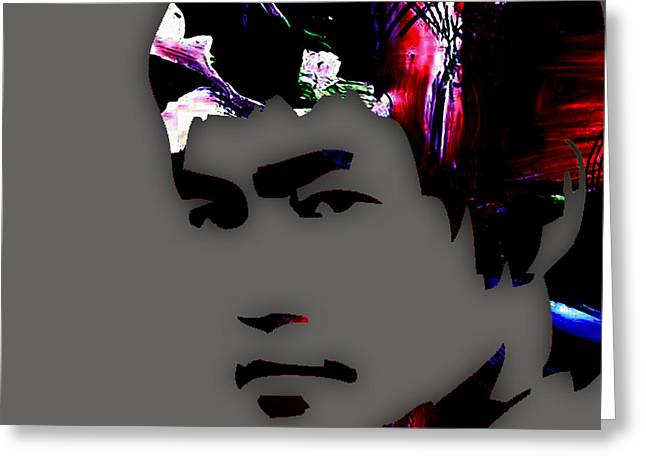 Bruce Lee Collection Greeting Card
