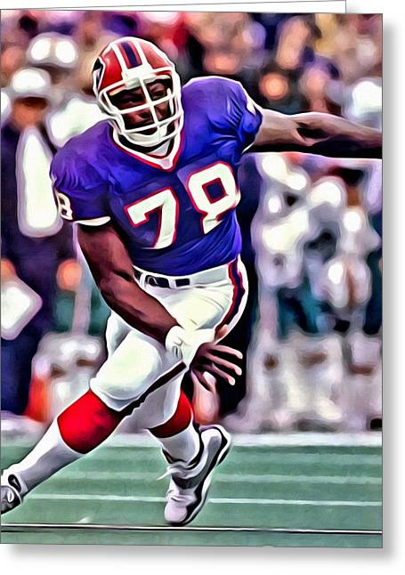 Bruce Smith Greeting Card