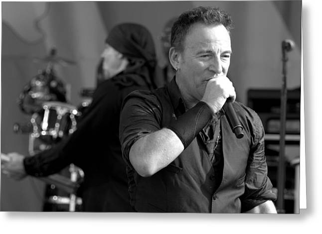 Bruce Springsteen 10 Greeting Card