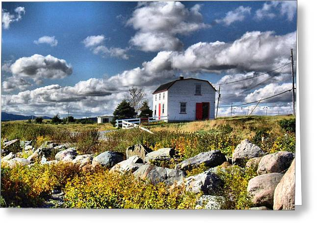 Brud's Place Renews Nl Greeting Card by Douglas Pike