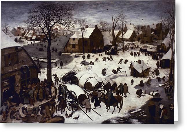 Bruegel Numbering, 1566 Greeting Card