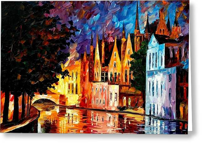 Bruges - Northern Venice Greeting Card