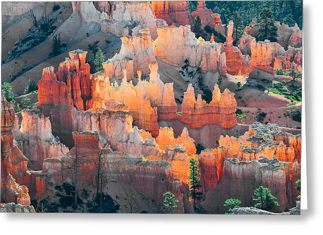 Bryce Canyon At Sunrise Greeting Card