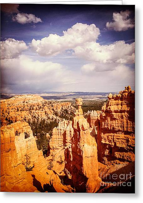Bryce Canyon Greeting Card by Colin and Linda McKie