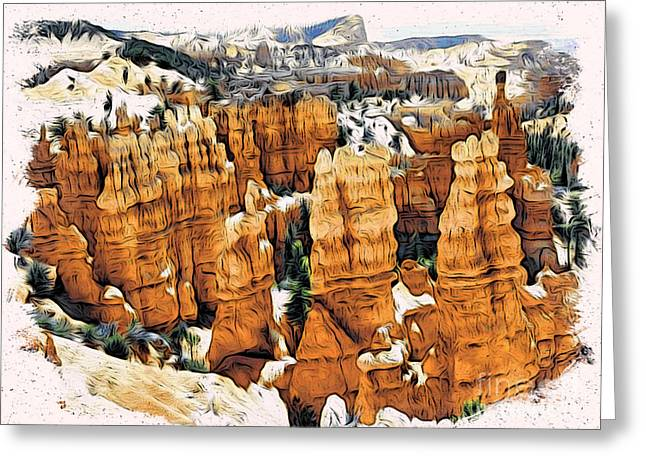 Bryce Canyon Greeting Card by Daxton Farr