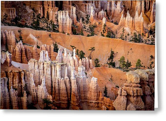 Bryce Canyon Hoodoos Greeting Card by Dave Cleaveland