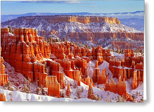 Bryce Canyon Panorama Greeting Card