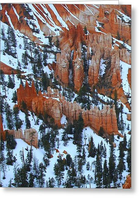 Bryce Canyon Series Nbr 22 Greeting Card