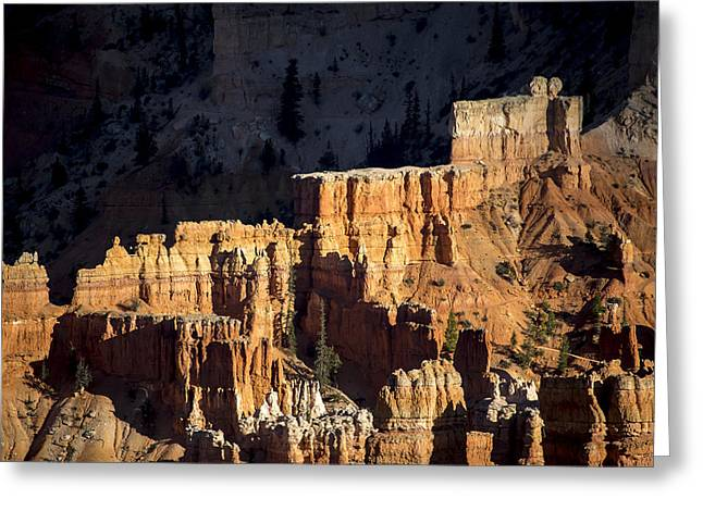Bryce Canyon Steps Greeting Card by Dave Cleaveland