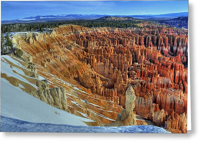 Bryce Canyon Sunrise Greeting Card by Dan Myers