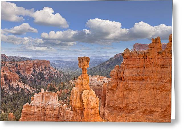 Bryce Canyon Utah Usa Greeting Card by Colin and Linda McKie
