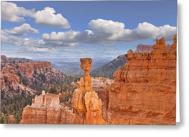 Bryce Canyon Utah Usa Greeting Card