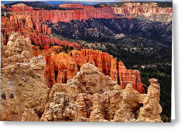 Bryce Canyon Vista Greeting Card by Dan Sproul