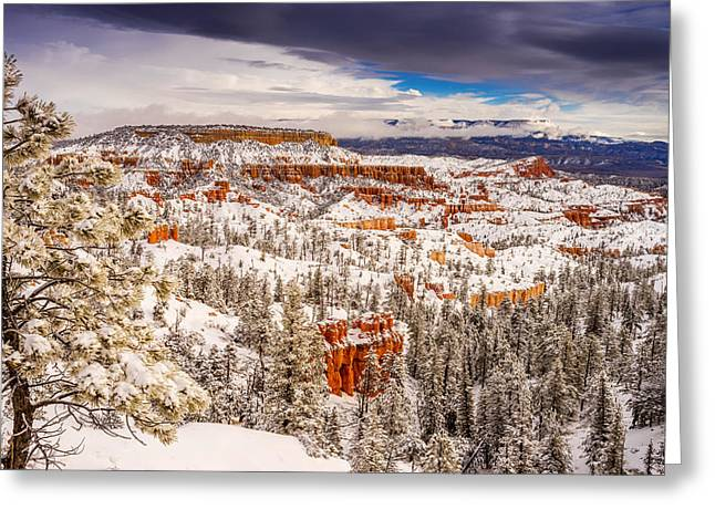 Bryce Canyon Winter Greeting Card