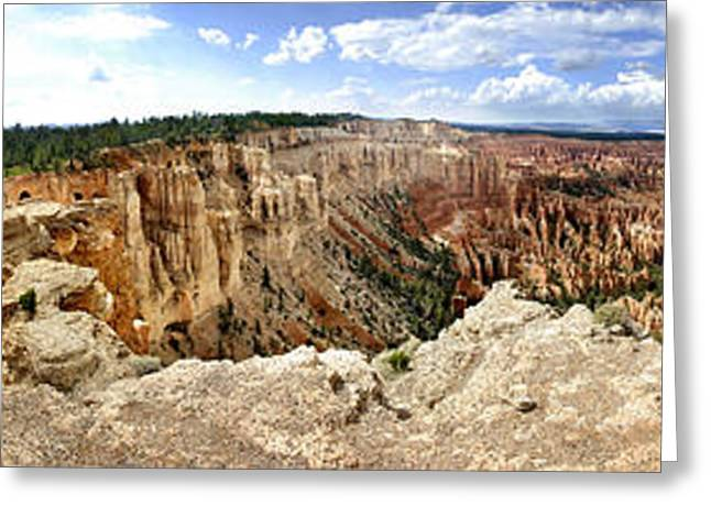 Bryce Panoramic Greeting Card