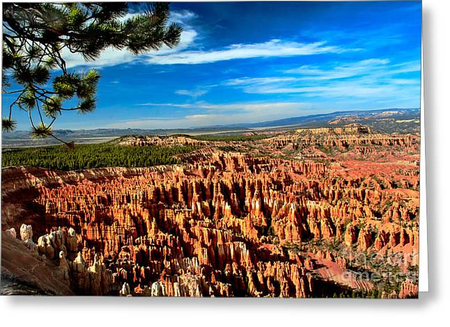 Bryce Greeting Card by Robert Bales