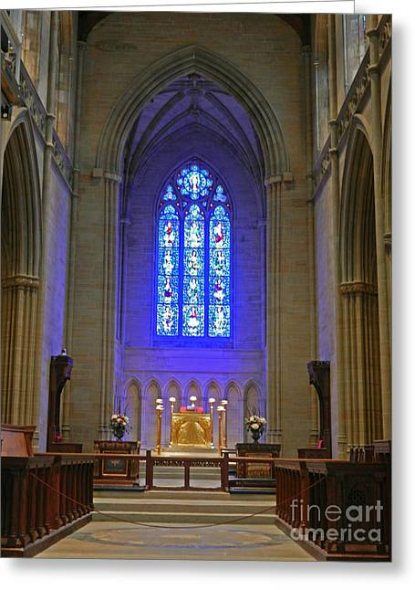 Bryn Athyn Cathedral Altar Greeting Card