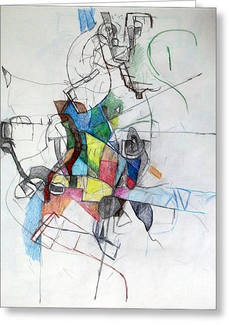 Bseter Elyon 43 Greeting Card by David Baruch Wolk