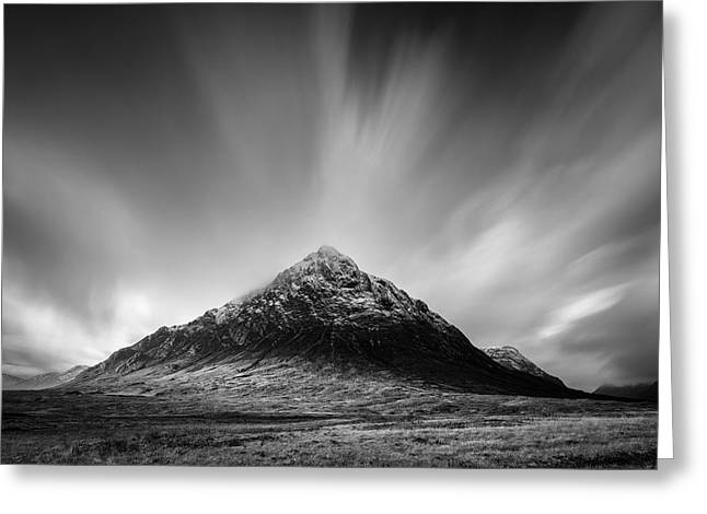 Buachaille Etive Mor 1 Greeting Card by Dave Bowman