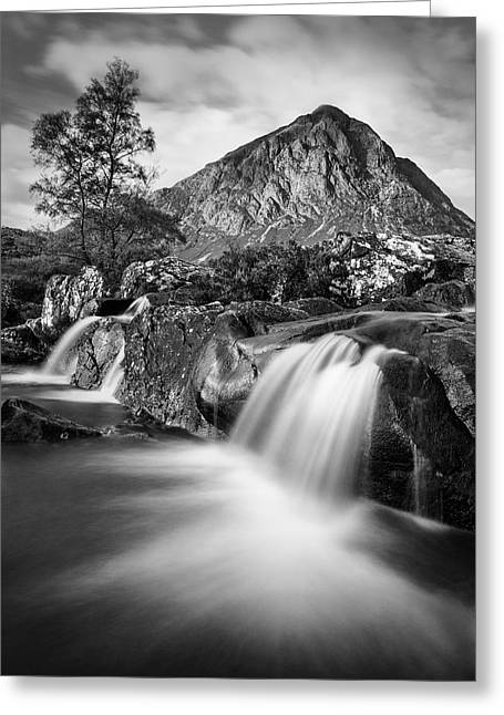 Buachaille Etive Mor 4 Greeting Card by Dave Bowman
