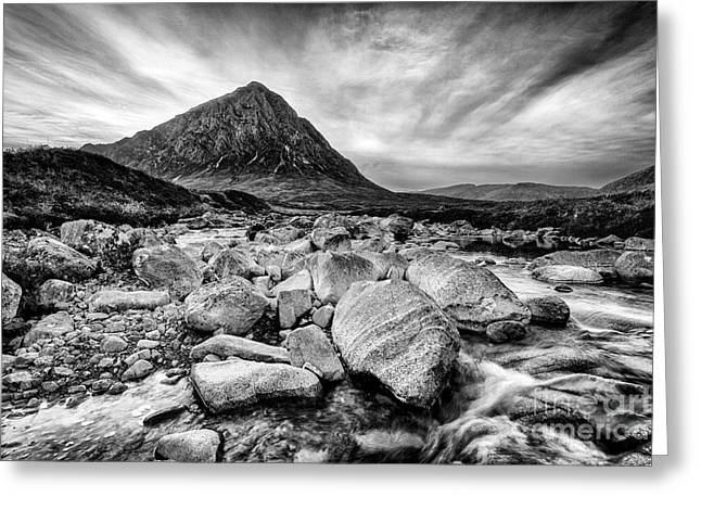 Buachaille Etive Mor Greeting Card by John Farnan