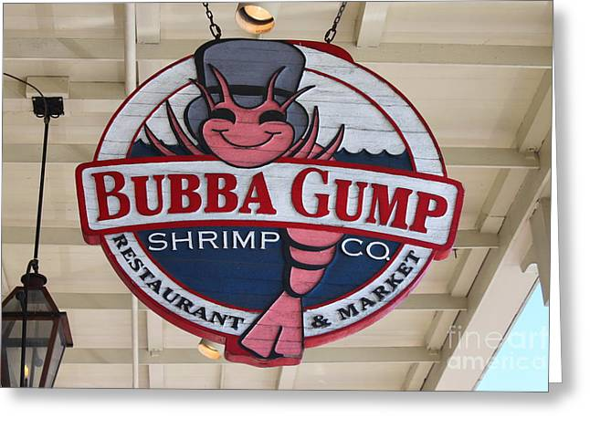 Bubba Gump Shrimp Co. Greeting Card