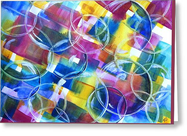 Bubble Fun Greeting Card