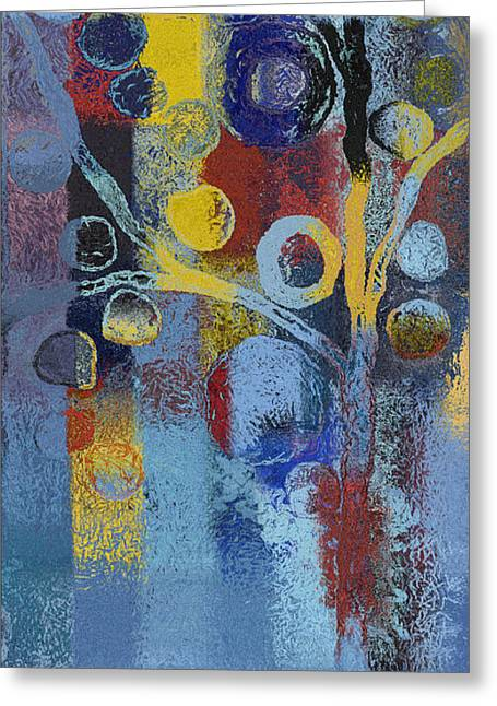 Bubble Tree - 7376106l Greeting Card by Variance Collections