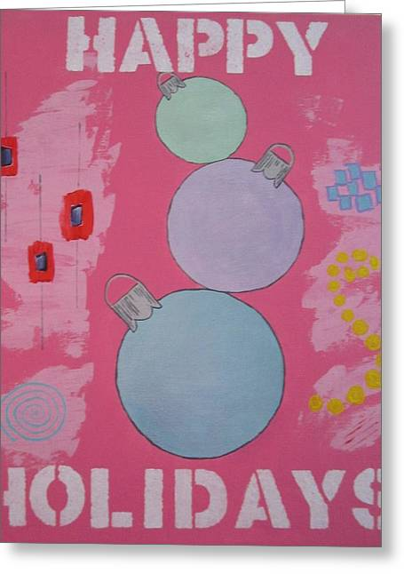 Bubblegum Christmas Greeting Card