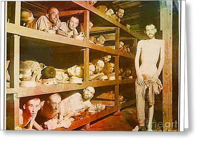 Buchenwald Concentration Camp Greeting Card