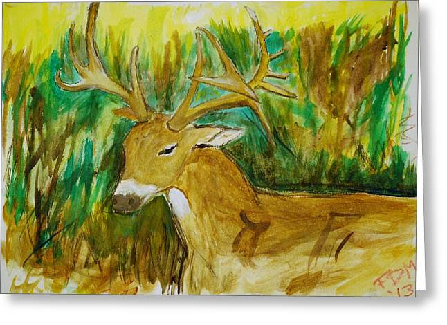 Buck Of A Lifetime Greeting Card