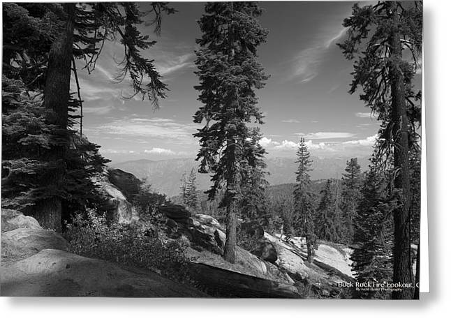 Buck Rock Fire Lookout Greeting Card