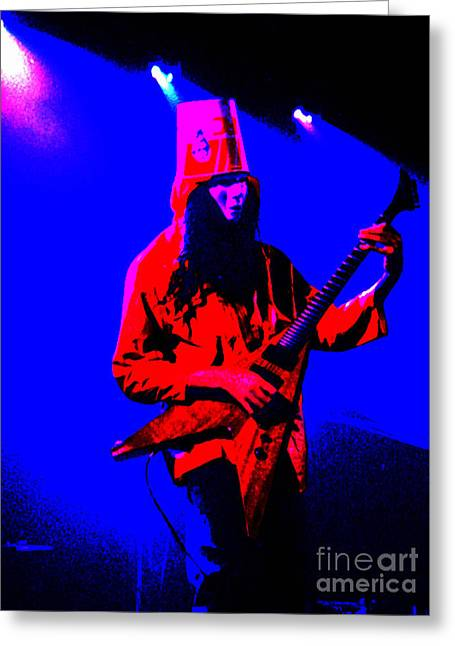 Buckethead-12c-1 Greeting Card by Gary Gingrich Galleries