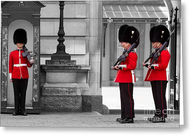 Buckingham Palace Guards Greeting Card