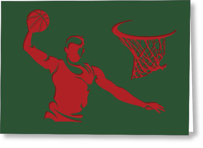 Bucks Shadow Player2 Greeting Card