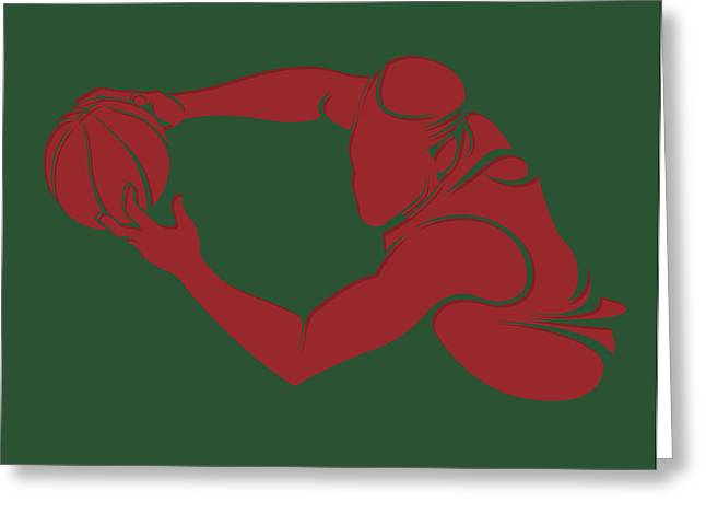 Bucks Shadow Player3 Greeting Card